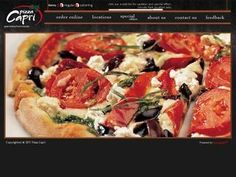 Pizza Capri in Hyde Park, Chicago. So yum!