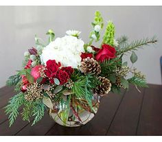 Christmas all around at Glendora Florist www.glendorafloriststudio.com