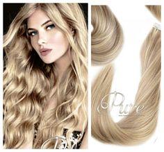Our brand new Blonde Hair Extensions, Tape In Hair Extensions, Warm Blonde, Cool Blonde, Blonde Foils, Best Virgin Hair, Medium Blonde, Shades Of Blonde, Creative