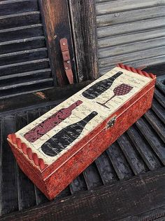 Wine box wooden wine gift box leather effect gift for men