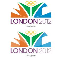 I'd like to see the Olympics...  2012 Olympic Logo Process by Anthony Macchio, via Behance