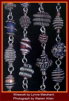 Wirework by Lynne Merchant.f - great article about a master artist!