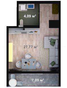 Однокомнатная квартира-студия 39м  Цена квартиры: 3 225 128 руб. 1 этаж Купить квартиру в Ялте от застройщика http://eco-dom.org/catalog/yalta ЭкоДом  Однокомнатная квартира-студия 39м http://eco-dom.org/catalog/kvartira/242
