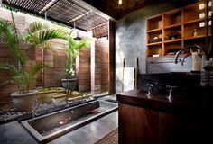 Bali Bathroom ~GirlNesting