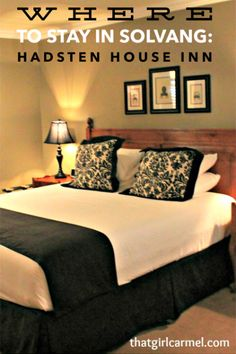A review of Hadsten House Inn, one of the best hotels in Solvang in California's Santa Ynez Valley Best Boutique Hotels, Best Hotels, Luxury Beach Resorts, Santa Ynez Valley, California Love, City Break, Travel Tips, Fishing, Wanderlust
