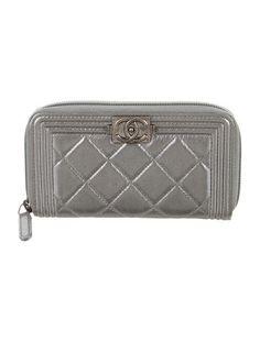 Chanel L-Zip Boy Wallet