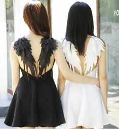Aliexpress.com: Comprar Bm40 negro DARK ANGEL maléfica WINGS DRESS LOLITA GOTHIC cisne boda BACKLESS de vestido de boda de oro detalle fiable proveedores en Angel-secret
