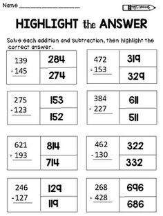 digit subtraction with regrouping freebie by brianna johnson   digit addition and subtraction worksheets