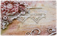 Such a Pretty Mess: A NEW Mixed Media Tutorial Video! {Featuring Dusty Attic & Tresors De Luxe Lace!}