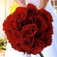 Simple rose bouquet...