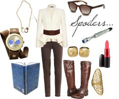 """""""River Song"""" by favourite-fictional-fashions on Polyvore"""