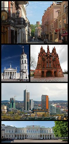 Vilnius, Lithuania  With U of L Cardinal Singers  Baltic Music Conference 2008