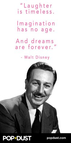 Great #WaltDisney quote...