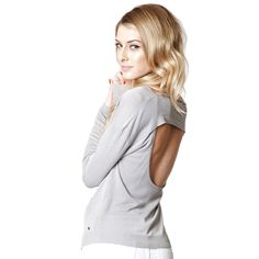 Belmont Pullover Light Gray by One Grey Day