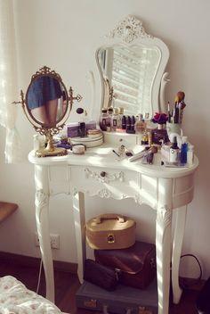 Old fashioned dresser