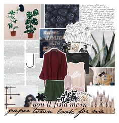 """""""look for a place filled with broken hopes and dreams."""" by coldplayharry ❤ liked on Polyvore featuring Assouline Publishing, Chanel, Puma and ASOS"""