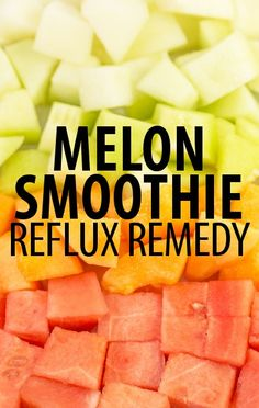 Dr Oz's acid reflux remedies for women included a delicious Banana Melon Ginger Smoothie Recipe and Manuka Honey to reduce the inflammatory symptoms. Healthy Smoothies, Healthy Drinks, Smoothie Recipes, Healthy Recipes, Healthy Shakes, Smoothie Ingredients, Healthy Eating, Low Acid Recipes, Acid Reflux Recipes
