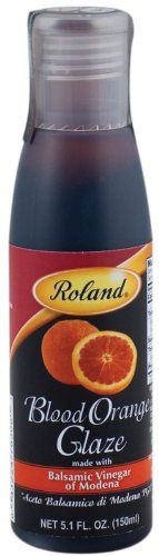 Roland Blood Orange Balsamic Glaze, 5.1-Ounce Bottles (Pack of 3) * Additional info  at baking desserts recipes board