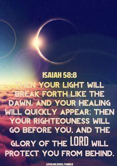 Isaiah 58:8 / BIBLE IN MY LANGUAGE