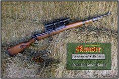 Mauser See Thru Scout Scope Mount :: Mauser Platform Products, 8mm (7.92x57) :: Brass Stacker™