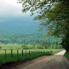 The drive around Cades Cove is 11 miles long