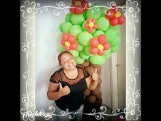 Árvore de Balões(Balão 250 Big) - YouTube