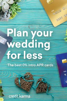 Getting hitched is a beautiful thing to do, but it isn't cheap. If you're funding wedding expenses, 0% 21-month intro APR card could make a huge difference. That intro APR could allow you to pay off your balances over time without wasting money on interest.  Browse some of the best credit cards of 2017 on Credit Karma.