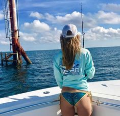 Shop Coastal Saltwater Fishing gear and supplies. A leader in quality Saltwater Fishing Equipment including Rods, Reels, Lures, Tackle and Accessories at an affordable price. Gone Fishing, Kayak Fishing, Fishing Stuff, Fly Fishing Girls, Bikini Fishing, Fishing Quotes, Saltwater Fishing, Fishing Equipment, Sensual