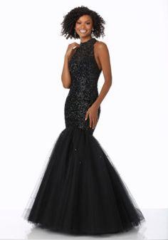 Mori Lee Prom Dresses 2018 Black Cherry