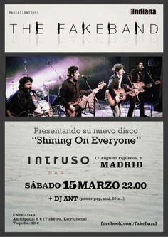 Exile SH Magazine: Concierto The Fakeband , Madrid, Sala El Intruso, ... http://www.exileshmagazine.com/2014/03/concierto-fakeband-madrid-sala-el_3927.html