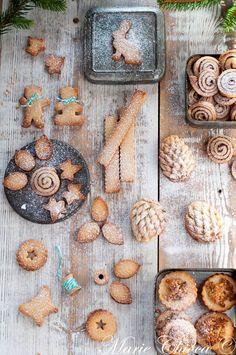 bredele vegan 6 Healthy Meal Prep, Healthy Dinner Recipes, Healthy Snacks, Vegan Recipes, Vegan Food, Yummy Cookies, Sweet Life, White Christmas, Biscuits
