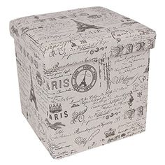 Songmics Paris Effiel Fabric Storage Ottoman Underdesk Footrest Step Stool Cotton Fabric Country Home Decor ULSF30X Songmics-Storage Ottoman http://www.amazon.com/dp/B014DD4W30/ref=cm_sw_r_pi_dp_Qpblwb05CJ2N2