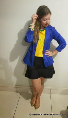 Vivy Duarte: Look do Dia: Brasil