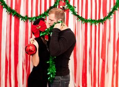 christmas photo booth - Google Search