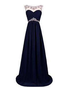 Dresstells® Long Chiffon Prom Dress with Beadings Wedding Dress Maxi Dress Evening Party Wear Dresstells http://www.amazon.co.uk/dp/B00OHGE518/ref=cm_sw_r_pi_dp_zj-wvb13A4S38
