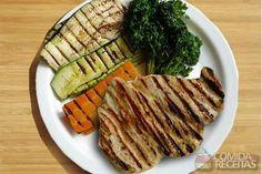 Receita de Legumes grelhados família burger em receitas de legumes e verduras…