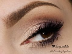 """""""Soft violet"""" by ilovemyaddiction using the Makeup Geek eyeshadows Corrupt, Fairytale, and Purple Rain."""
