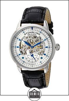 Stührling Reloj 133.33152 de Caballero movimiento automático con correa de piel de  ✿ Relojes para hombre - (Gama media/alta) ✿