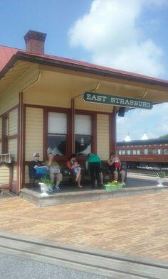 SCR Depot East Strasburg, PA Strasburg Railroad, Railroad Photography, Pennsylvania Railroad, Rolling Stock, Trains, Outdoor Decor, Vehicles, Train
