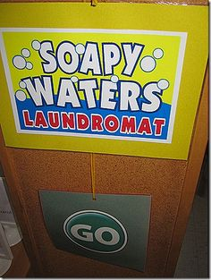 ideas for laundry dramatic play