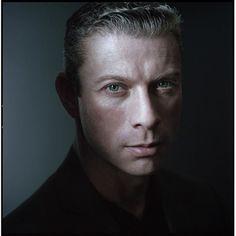 Portrait Photography Inspiration : Actor Headshot Hasselblad 500cm Kodak Portra 400. #filmphotography #manualcamera