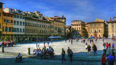 Firenze  - Piazza Santa Croce