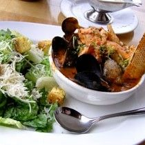 Roasted Halibut with Shellfish Cioppino - World Famous Recipes Healthy Food Choices, Healthy Recipes, Spot Prawns, Famous Recipe, Roma Tomatoes, Fennel Seeds, Mussels, Soups And Stews