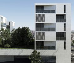 Aum Architects - Collective Housing, L'ilot Seguin, France