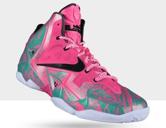 reputable site c934a 41620 Buy Authentic Cheap NIKEiD LeBron 11 Graffiti Green Pink Black Discount  from Reliable Authentic Cheap NIKEiD LeBron 11 Graffiti Green Pink Black  Discount ...