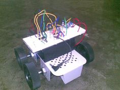 Cell Phone Controlled Robot without a Microcontroller