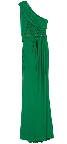 Elie Saab Shoulder Long Dress     dressmesweetiedarling