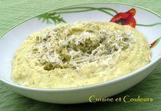 Polenta moelleuse au brocoli, selon Eric Fréchon Polenta, Grand Chef, Outre, Oatmeal, Breakfast, Warehouse, Ethnic Recipes, Food, Side Dishes