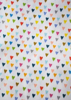 hearts ... original fabric ... katherine codega