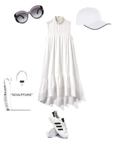"""""""Ахромат"""" by kati-style-istanbul ❤ liked on Polyvore featuring 3.1 Phillip Lim, adidas, Off-White, Vilebrequin and Tom Ford"""